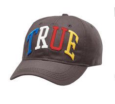 Men's True Religion Embroidered Rainbow 3D Cap Baseball Sport Strapback Hat image 6
