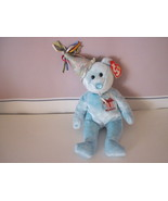 Ty Beanie Baby Birthday March Celebration Bear - $5.99