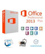 Microsoft Office 2013 Professional Plus License Key (Bonanza Message Del... - $13.99