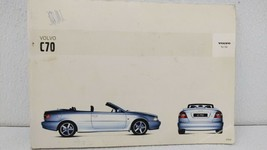 2004 Volvo C70 Owners Manual 73122 - $47.49