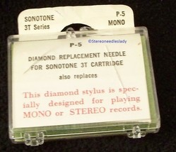STEREO RECORD STYLUS NEEDLE for Sonotone 3T Sonotone N3T 78 RPM 802-DS73 image 2