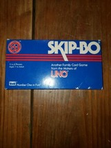 Vintage Skip-Bo Family Card Game from the makers of UNO  - $18.50