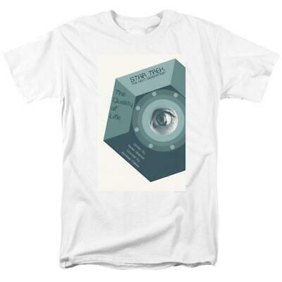 Star Trek T-shirt TNG Quality of Life Retro 80s 90s Sci-Fi graphic tee CBS2221