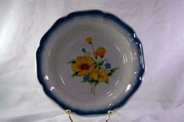Mikasa 1985 Amy Soup Bowl Stoneware #CA503 Country Club Line - $4.15