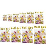 Nail Art V Perforated 70/30 See Though Window Poster Sign Vinyl Salon Ve... - $23.96+