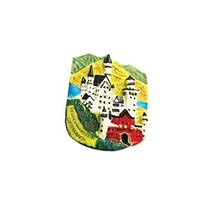 National Landscape Magnets Tourist Souvenirs Refrigerator Magnetic Stickers_A1 - $30.09