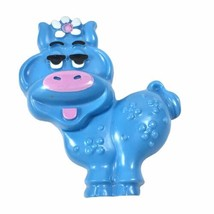 Vintage Collectible 1973 Avon Blue Moo Cow Pin Pal Fragrance Glace' - Full! - $18.66