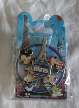 Disney Paris Pin Minnie Mickey Spinner VII Donald Goofy Mint in Package ... - $24.00