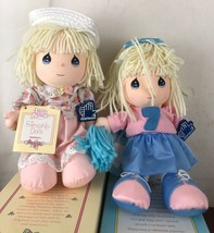 Precious Moments Friendship Dolls  With box Lot Of 2 - $14.03
