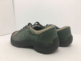 Keen Briggs Green Tan Leather Women's Lace Up Comfort Walking Shoes Size 5 M image 12