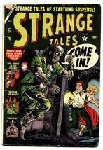Strange Tales #24 comic book 1953-Atlas-pre-code horror-Cannibalism! - $339.50