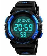 Kids Digital Sports Watch for Boys Girls, Boy Waterproof (Blue(LED DISPL... - $18.65