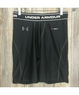 Under Armour Heat Gear Shorts Medium Compression Base Layer Athletic Sports - $15.84