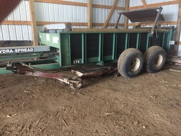 Hagedorn 275 Manure Spreader For Sale in Wall Lake, Iowa 51466
