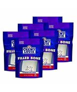 CHEWY LOUIE Small Bone Filled with Peanut Butter 6pk - Natural Beef Bone... - $49.49