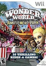 Wonder World Amusement Park (Nintendo Wii, 2008) - $1.33