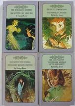 Nancy Drew Twin Thrillers 4 Lot 10602, 10623, 10625, 10626 Carolyn Keene hc - $16.00