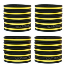 Set of CHILD Size Thin YELLOW GOLD Wristbands Dispatchers Security Brace... - $5.82+