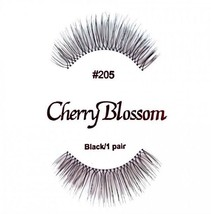 CHERRY BLOSSOM FALSE EYELASHES CHOOSE 1 TO 10 PAIRS OF QTY of  #205 LASHES - $1.57+