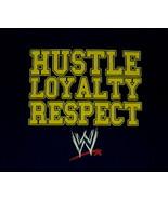 John Cena WWE Hustle Loyalty Respect Logo Wrestling T-Shirt Size X-LARGE... - $19.34