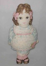 "SO CUTE 17"" Cloth Reproduction VICTORIAN GIRL Doll - $29.15"