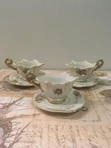 Vintage Set of Occupied Japan Miniature TEA CUPS With SAUCERS - $9.99