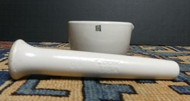 Vintage Coors Porcelain Mortar & Pestle Made In The U.S.A. Hard To Find ... - $39.85