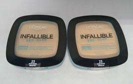 Set of 2: L'oreal Infallible Pro-Glow Powder 23 Nude Beige - $9.16