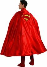 Rubies Cape Superman Homme D'Acier Logo Dc Comics Adulte Déguisement Hal... - $36.60