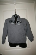Guess Jacket Boys Gray Skater Pullover Style Sz S - $6.04