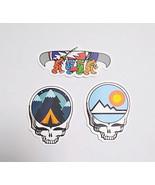 3 Grateful Dead  Sticker Set Deadhead   Mini Stickers  Water Bottles Lap... - $3.59