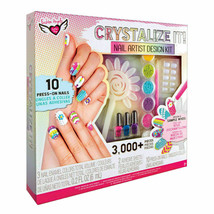 Kids Craft Nail Artist Design Kit Crystalize It! By Fashion Angels NEW Sealed 8+ image 2