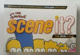 The Simpsons Scene It The DVD Board Game 2009 Mattel - $23.36