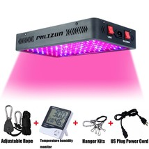 1200W LED Grow Light Kit Full Spectrum Reflector Indoor Hydro Plant Lamp... - $210.56