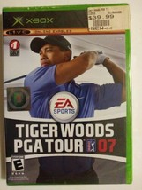 Tiger Woods PGA Tour 07 [Microsoft Xbox 2006] pro golf sports game SEALE... - $9.63