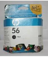 HP Ink Cartridge ~ 56 Black ~ Page Yield 520 ~ New in unopened package - $17.08