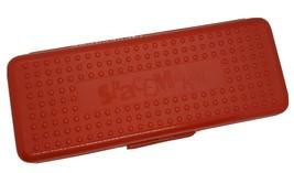 VTG SpaceMaker Large Red Pencil Case Ruler Retro Storage Art Box 1990s 1... - $28.70