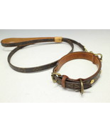LOUIS VUITTON  Collar, lead 2-piece set / monogram / for dogs  - $648.90