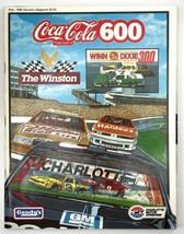 Coca-Cola 600 May 1988 Souvenir Magzine Charlotte Motor Speedway NASCAR ... - $23.28