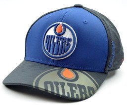 Edmonton Oilers Reebok M944z NHL Hockey Playoff Stretch Fit Cap Hat - $21.95