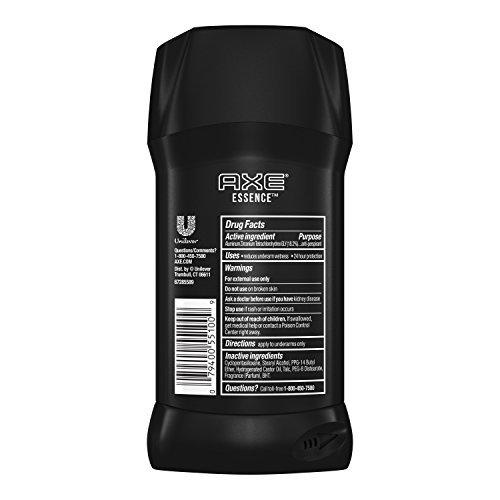 AXE Antiperspirant Deodorant Stick for Men, (2.70 oz (Pack of 4) Essence)