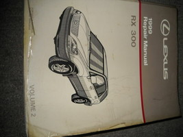 1999 Lexus RX300 RX 300 Service Shop Repair Manual BRAND NEW VOLUME 2 - $163.34