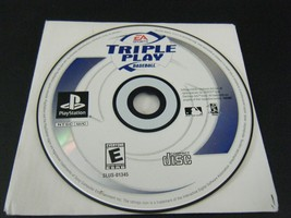 Triple Play Baseball (Sony PlayStation 1, 2001) - Disc Only!!! - $4.45