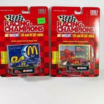Lot 2 McDonald's #94 Bill Elliott Stock Car Racing Champions 1997 Editio... - $12.86