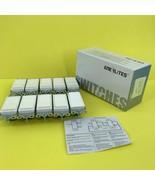 10 PACK- ENERLITES Decorator Rocker Light Switch 3 Way 15A 120V #3339 Z5... - $19.79