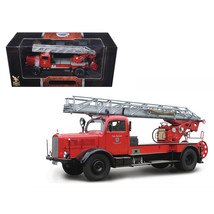 1944 Mercedes L4500F Fire Engine Red 1/24 Diecast Car by Road Signature ... - $100.26