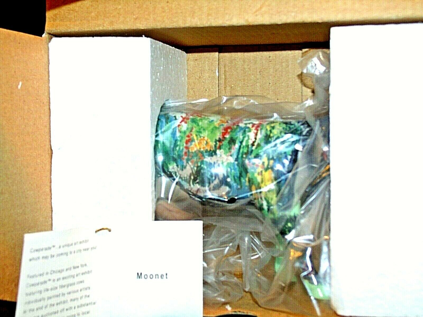 Cow Parade Moonet Item # 9168 Westland Giftware AA-191815 Collectible