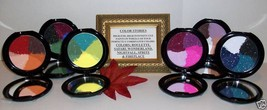 Huge lot eye shadow color wheel cosmetics 6 combination - $72.93