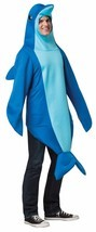 Rasta Imposta Bottlenose Dolphin Bodysuit Adult Mens Halloween Costume 6484 - $48.14