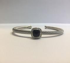 David Yurman Bracelet with Black Onyx and Diamonds - $755.00